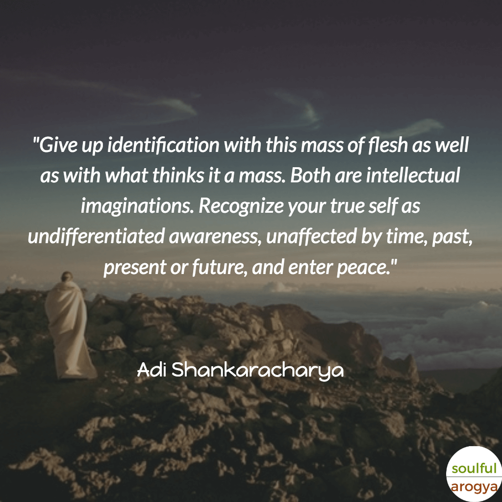 Adi Shankaracharya Quotes (3) - Soulful Arogya