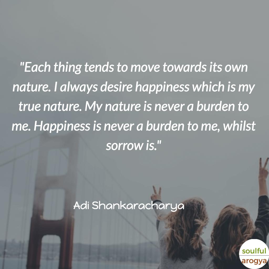Adi Shankaracharya Quotes (4) - Soulful Arogya