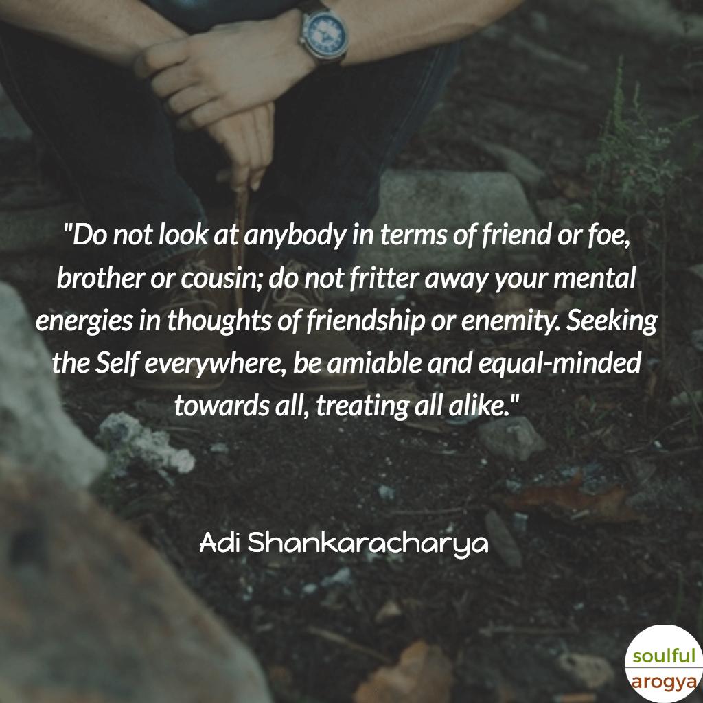 Adi Shankaracharya Quotes (7) - Soulful Arogya