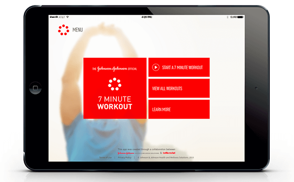 Johnson and Johnson 7 Minute Workout