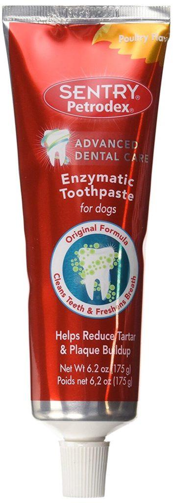Dog Toothpaste on Amazon