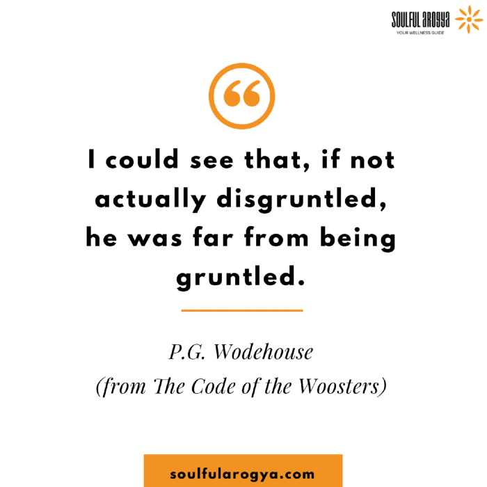 Wodehouse Quotes