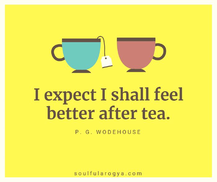 Wodehouse Tea Quote